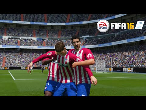 EA- FIFA 16 GAMEPLAY -Real Madrid C.F. vs Atlético Madrid (No Commentary) [ PS4 / XBOX ONE]