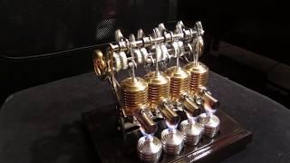 Bohm HB34 Four cylinder Stirling Engine