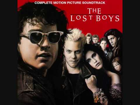 The Lost Boys soundtrack walked awkwardly between worlds