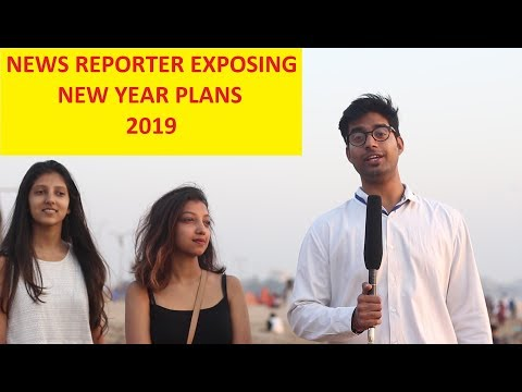 BUNTY BUBBLEE | NEWS REPORTER PRANK | EXPOSING NEW YEAR PLANS 2019