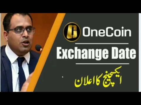 Onecoin Exchange Date Announce By GLG Member M.Adeel