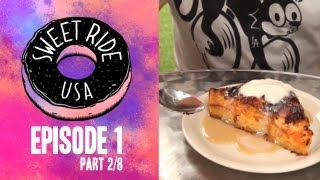 Croissant Bread Pudding - Sweet Ride Usa Ep1 (part 2/8)