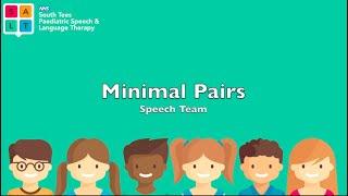 Minimal Pairs