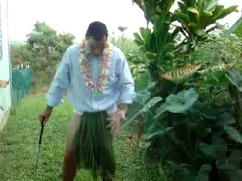 Obama Golfing in Hawaii Tips! (Political Hawaii Comedy)Obama Impersonator Ikaika Bright.) Part 1