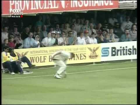 Most embarrassing run out in cricket Mike Atherton on 99 vs Australia Lords 1993