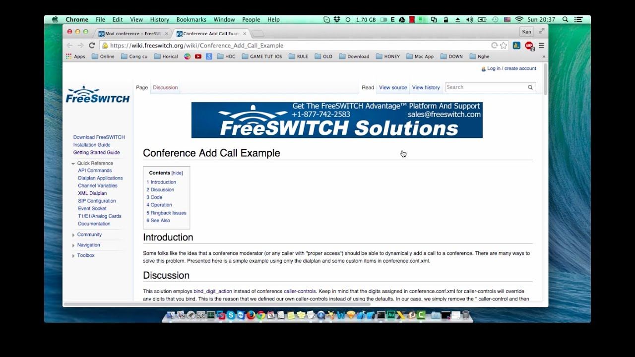 [ Tutorial 4 ] Conference Add and kick Call Example using XML Editor  fusionpbx freeSwitch