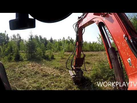 FAE FORESTRY MULCHER/KX080-4 EXCAVATOR 3 YEAR REVIEW