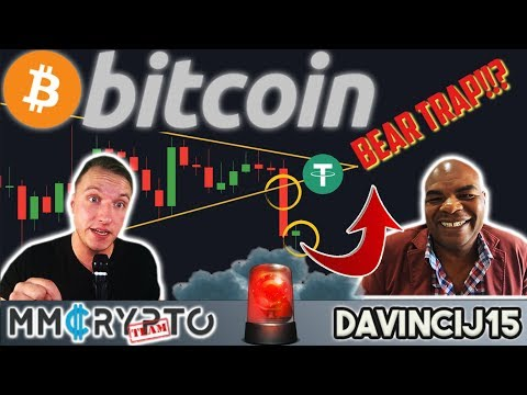 DavinciJ15 - Bitcoin DUMP!! USD Tether EXPOSED!! Bear TRAP or More CRASH!??