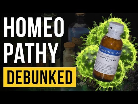 Homeopathy - Debunked