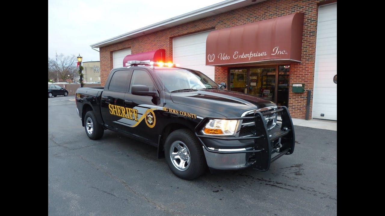 Dodge Big Horn >> Big Horn Co Sheriff, MT Dec 2012 Dodge Ram - YouTube