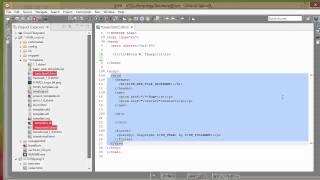 Setting up a Basic HTML5 Custom Template in Aptana Studio 3