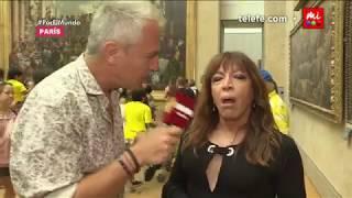 La Mona Lizy en el Museo del Louvre - Por el Mundo Mundial
