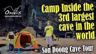 Camp in Hang En Cave | Son Doong Cave Expedition