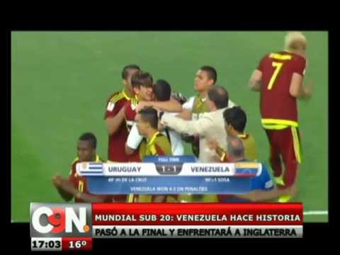 [Deporte] Venezuela hace historia en el Mundial Sub 20