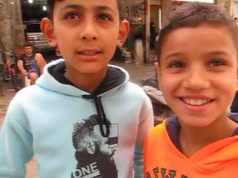 """Chatila - interview with 3 kids """"from Gaza"""""""