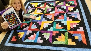 Can't You See the BUTTERFLY BLOOMS IN THIS QUILT??