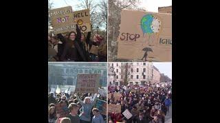 De Paris à Londres, les étudiants se mobilisent à travers le monde pour le climat