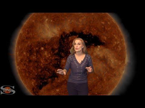 Huge Coronal Hole Snakes Across Our Sun: Solar Storm Forecast 01-21-2018