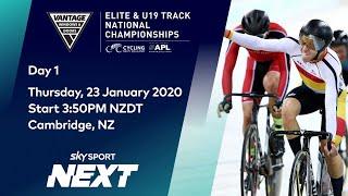 Vantage Elite & U19 Track National Championships - Day 1 | Cycling | Sky Sport Next