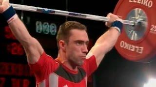 2007 European Weightlifting Championships, Men 56 kg \ Тяжелая Атлетика. Чемпионат Европы