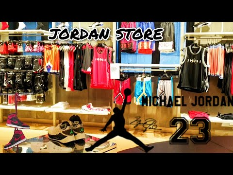 Largest Jordan Store in Shanghai, China