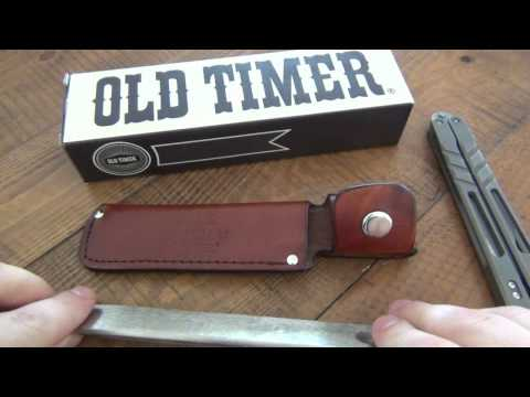 Tool Review : Old Timer Belt HoneSteel (Keeps Your Knife Edges Sharper Longer)