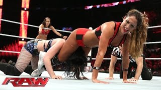 Download Paige vs. The Bella Twins - 2-on-1 Handicap Match: Raw, June 15, 2015 Mp3 and Videos