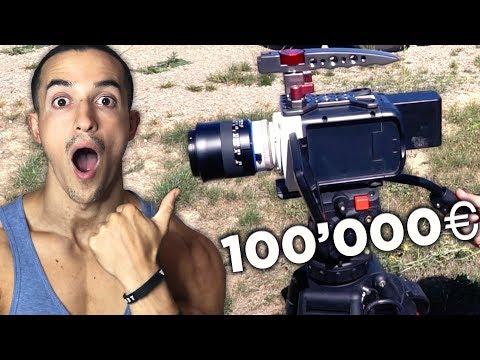 CETTE CAMERA COÛTE 100'000€ !!
