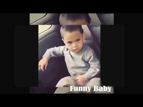 Funny Baby Dancing In Car | Cute Baby Car Dancing