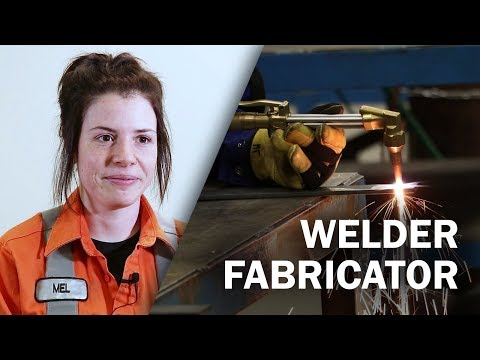 Job Talks - Welder Fabricator - Melynda Explains What A Maintenance Welder Does
