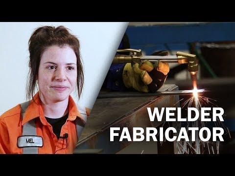 Job Talks - Welder Fabricator - Melynda Explains What A Maintenance Welder Does
