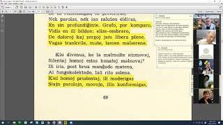 21 | Sinjoro Tadeo 3: 203-311 | Pan Tadeusz – 에스페란토 판 타데우시 3권 공부 (zoom)