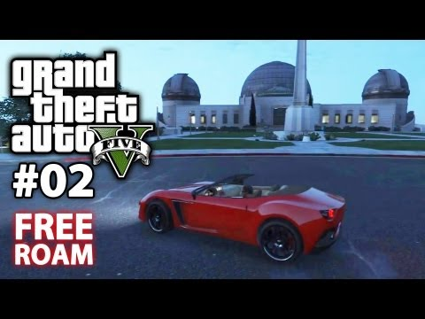 Accidental Suicide At Hollywood Landmarks! -- Grand Theft Auto V #02