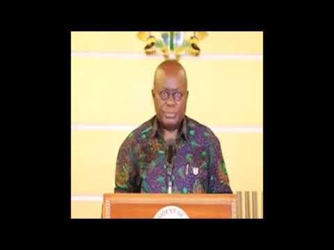 Akufo-Addo addresses nation on progress of campaign against coronavirus