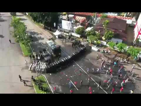 Simulasi Personil Polda Aceh