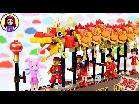 Lego Chinese Dragon Dance Set - Build the Dragon thumbnail