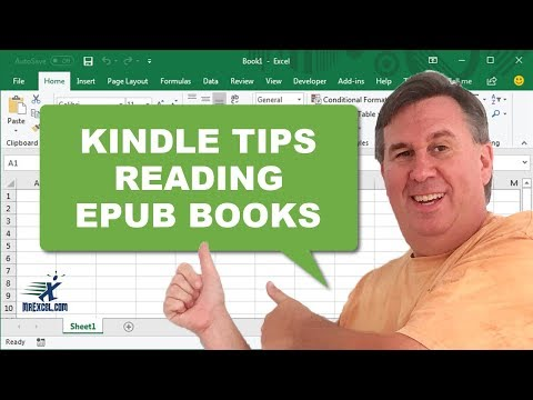 how to read epub books on your kindle