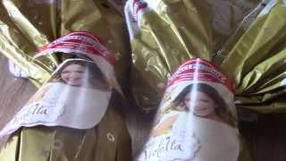 Violetta Easter Surprise eggs Gold Edition | Uovo di pasqua di Violetta Gold Edition