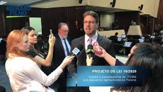 Requião Filho fala sobre projeto que aumenta parcelamento do ITCMD