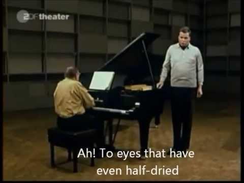 Beethoven : Wonne der Wehmut, op.83 nr.1 (English subtitles)