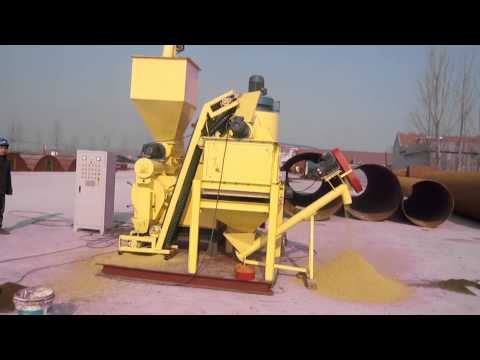 HKJ250 corn feed animal feed pellet machine