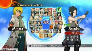 Naruto Shippuden Ultimate Ninja Storm 2 - All Characters Unlocked