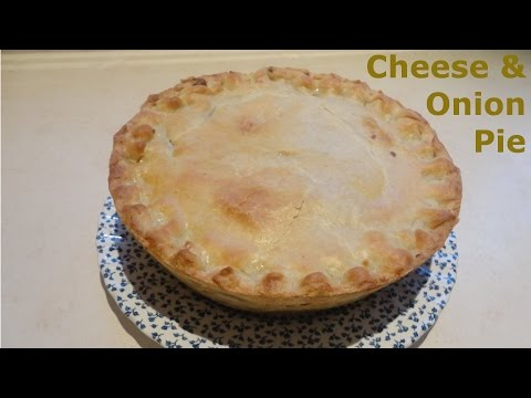 How To Make A Cheese & Onion Pie  British Recipe