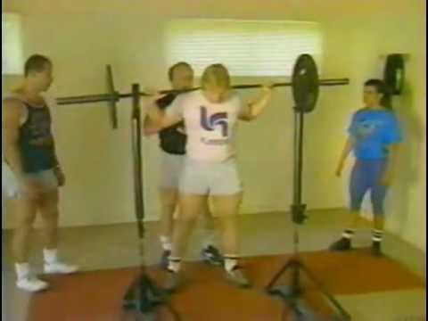 Fred Hatfield (Dr Squat) Presents - HEAVY IRON - Part One - Powerlifting Training Video Part 1