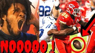 REACTION TO NFL CHIEFS VS COLTS WEEK 5 HIGHLIGHTS - THIS COSTED US THE GAME !