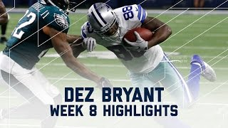 Dez Bryant Snags 113 Yards & 1 TD!   Eagles vs. Cowboys   NFL Week 8 Player Highlights