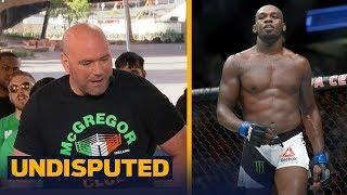 Dana White on Jon Jones testing positive for steroids: 'I was horrified' | UNDISPUTED