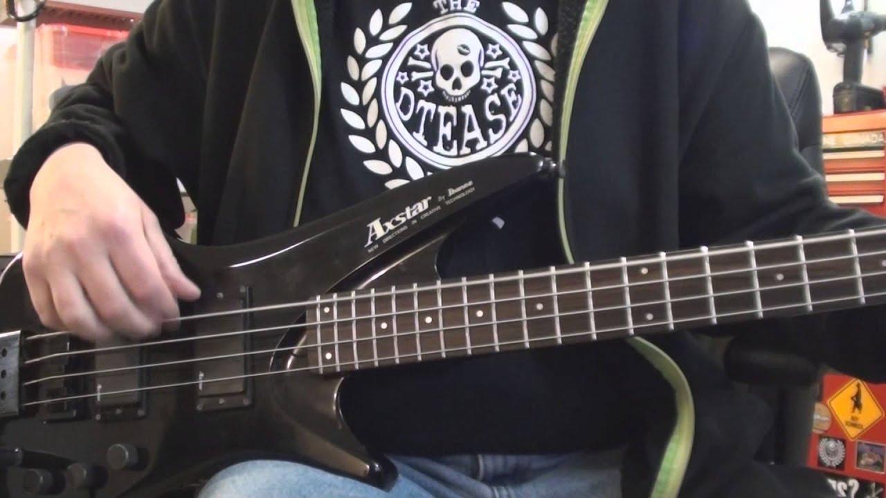 ibanez axstar bass guitar youtube