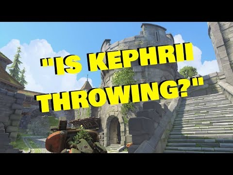 """IS KEPHRII THROWING?"""