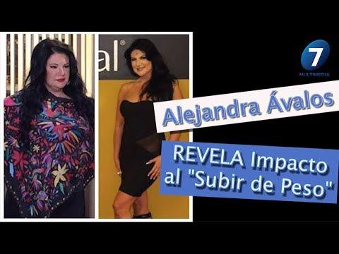 Alejandra Ávalos REVELA IMPACTO de SUBIR 30Kg/Multimedia7